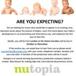 Documentary on baby development- looking for mums-to-be!