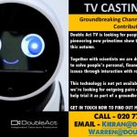 C4 TV show needs pairs to trial a social robot! Couples, family, mates-GET IN TOUCH!