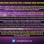 Contributors wanted for new TV show pilot