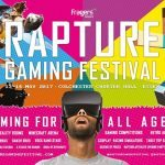 Win a weekend family ticket to the Rapture Gaming Festival CLOSED