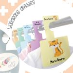 Win a set of cute Wardrobe Dividers and Milestone Cards from Belo + Me