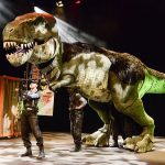 Win a Family Ticket to see Dinosaur Zoo at the Cliffs Pavilion