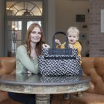Win a Babymel Cara Wave Changing Bag from Burble Baby