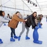 Win a family ice skating pass at Lee Valley White Water Centre's Christmas event