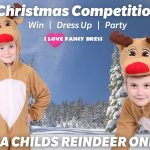 Win a Child's Reindeer Onesie from I Love Fancy Dress