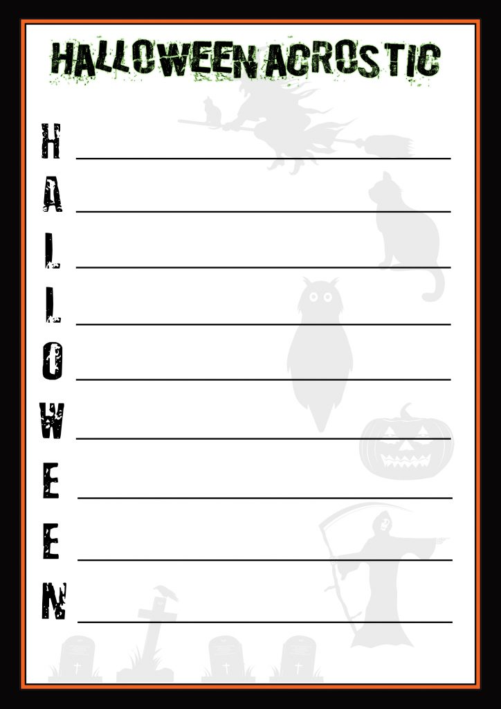 halloweenacrostic