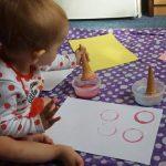 Icing Sugar Painting