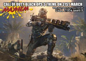 Call of Duty at Laser Mayhem