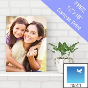 50 Free Canvas Prints (worth £30 each) at Blue Sky Printing – Colchester Launch Day