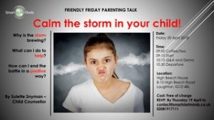 Parent Talk – Calm the Storm in your Child