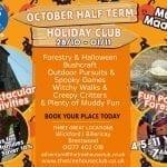 The Treehouse Club Holiday Club | October Half Term