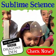 Sublime Science Party - Dragons Den Winning