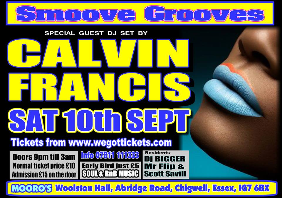 Smoove Grooves Soul & RnB Party