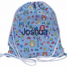 Personalised animal swim bag