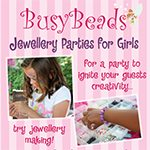 BusyBeads Jewellery Parties for Girls