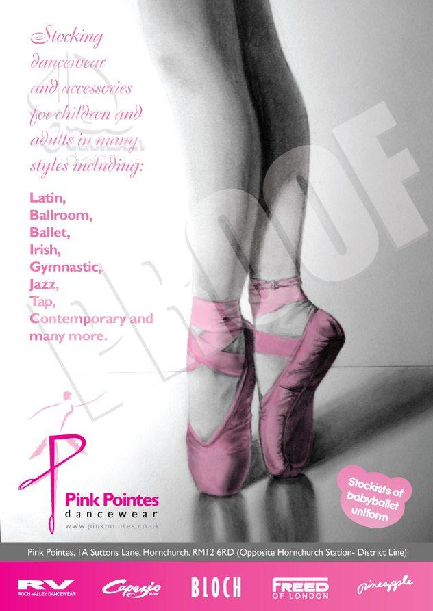 Pink Pointes Dancewear | Local Listings
