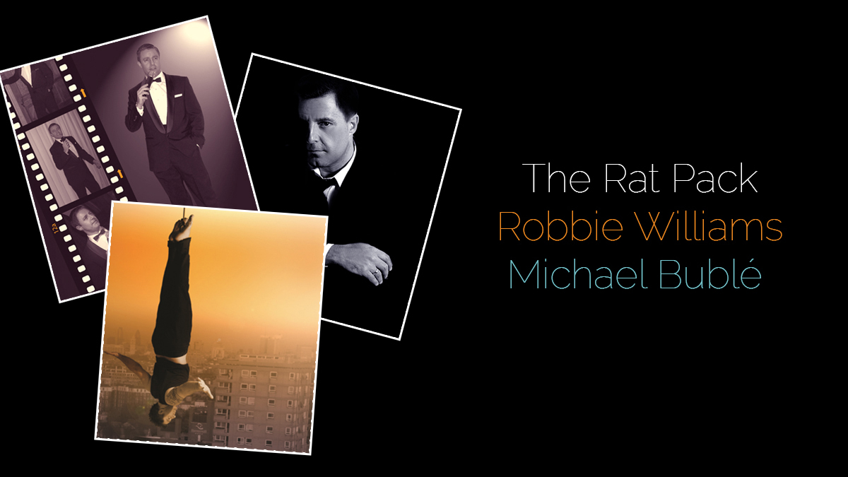 Andy Wilsher Sings… A Tribute To The Rat Pack, Robbie Williams & Michael Buble