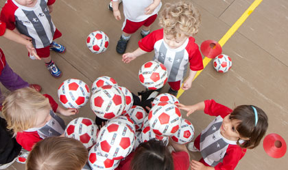 Little Kickers Toddlers Football