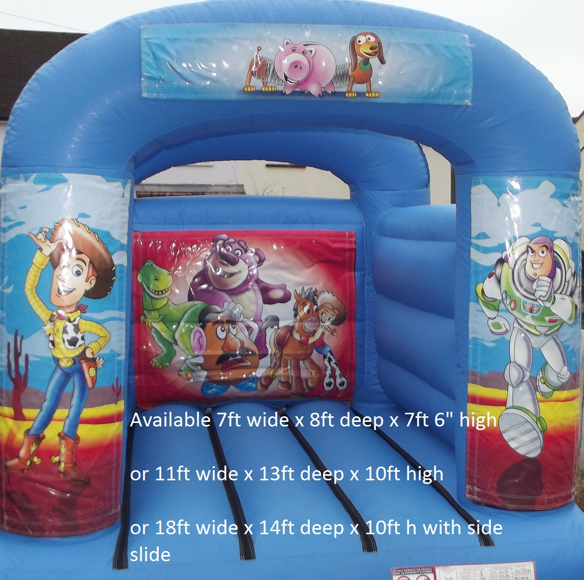 Basil's Bouncy Castles and Mascot Hire