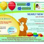 Rayleigh Baby & Children's Market 27th January 2018