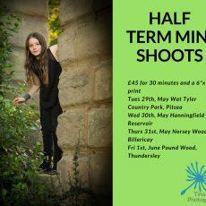 May Half Term Mini Shoots