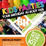 Outdoor Obstacle Kids Birthday Parties (Age 6+)