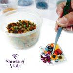 Flower jewellery by Shrieking Violet®