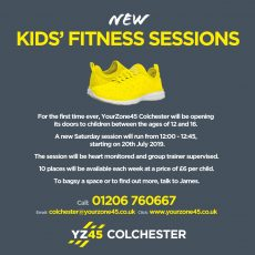 Kids sessions ad