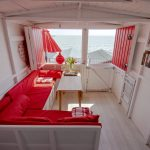 Hire a wonderful Red Beach Hut