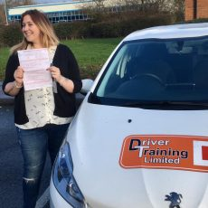 become driving instructor Jemma