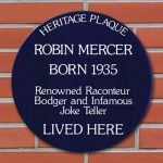 Personalised Spoof Blue Heritage Plaques