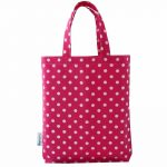 Pink Polka Dot Luxury Party Bag