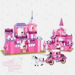 Princess Castles and Carriages Brick Set