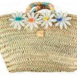 Al Agua Patos beach straw bag