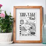 Personalised Word Art Prints