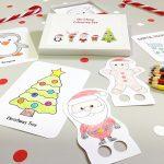 Christmas Colouring Box