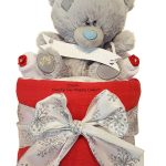 Mini Me to You Tatty Teddy Nappy Cake