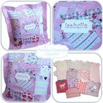 Handmade Babygrow Cushion