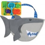 Shark Beach Tote Bag