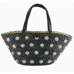 Black Spotty Beach/Summer Bag