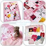 Handmade Babygrow Quilt
