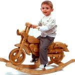 Wooden Rocking Bikes