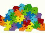 Alphabet Dinosaur Puzzle