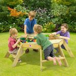 Plum Premium Wooden Octagonal Activity Table