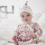 Baby Girl Pink Romper and Hat set