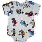 Powellcraft Babygro Vest – Tractor