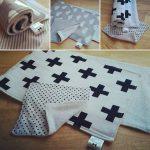Minimalist Burp Cloth Set