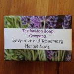 Lavender and Rosemary Herbal Soap