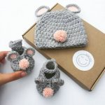 Baby Mouse Crochet Gift Set
