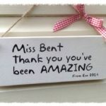 Personalised Teacher Gift – You're Amazing